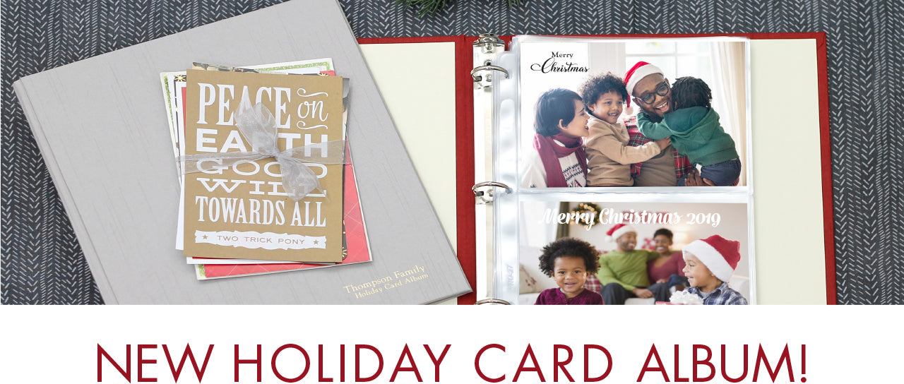 Holiday Card Album