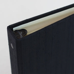 Photo Binder (for 4 x 6 photos) Black Silk
