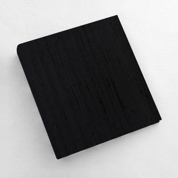 Photo Binder Black Silk