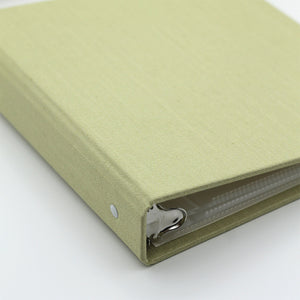 Photo Binder (for 4 x 6 photos) Lemongrass Silk
