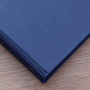 Photo Binder (for 4 x 6 photos) Navy Silk