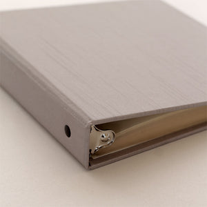 Photo Binder (for 4 x 6 photos) Silver Silk