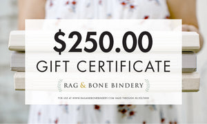 Gift Certificate $250.00