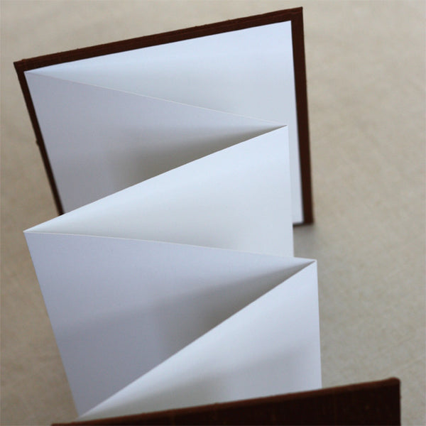 Accordion Book Basic Brown