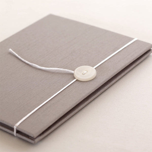 Accordion Book Silver