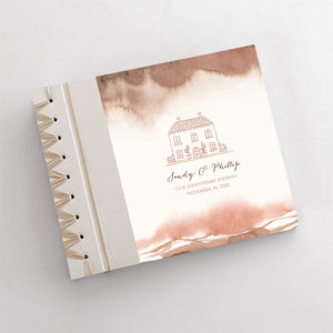 Personalized Anniversary Journal Our House