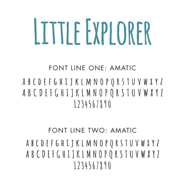 Personalized Baby's First Book Little Explorer