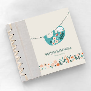 Personalized Baby's First Book Baby Sloth