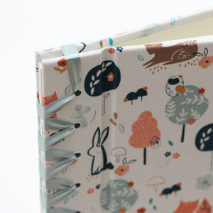Baby's First Book Woodland Fabric Cover