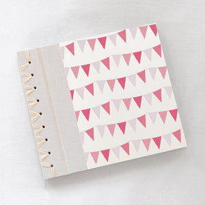 Baby's First Book Pink Bunting