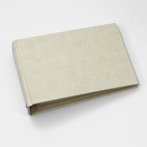Brag Book Mini Binder with Creme Faux Silk