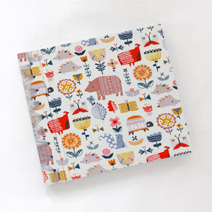 "Baby's First Book ""Flower Friends"" Fabric Cover"