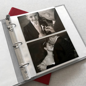 Photo Binder (for 4 x 6 photos) Polka Dot