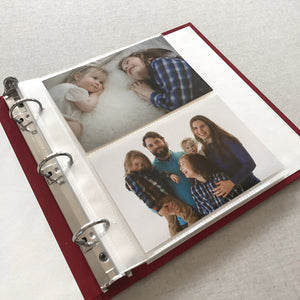 Photo Binder Polka Dot