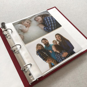 Photo Binder (for 4 x 6 photos) Dogwood (SALE)
