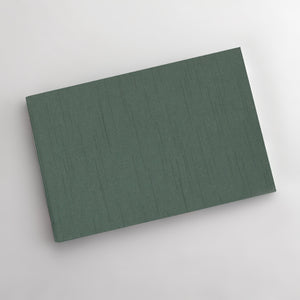 Guestbook with Jade Silk Cover