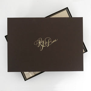 "Gift Box for all ""Large Paper Page Albums"""