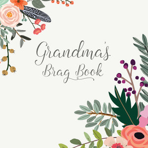 Grandma's Brag Book Mini Binder - Corner Bouquet