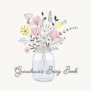 Grandma's Brag Book Mini Binder - Mason Jar