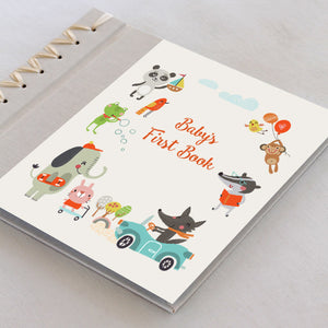Baby's First Book Happy Animals