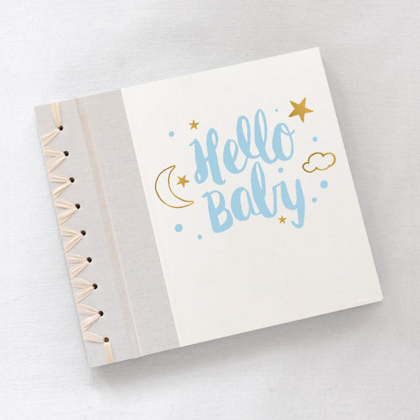 Baby's First Book Hello Baby Blue