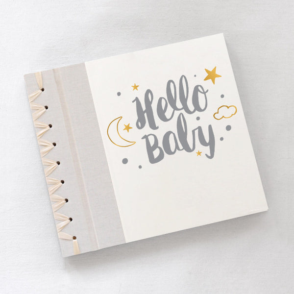 Baby's First Book Hello Baby Gray