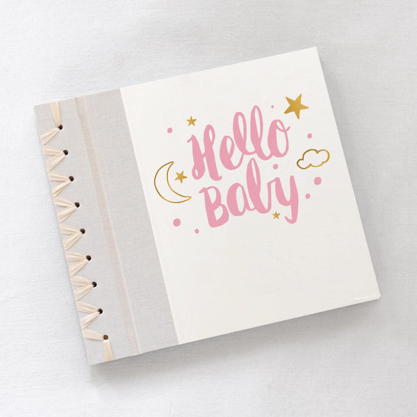 Baby's First Book Hello Baby Pink