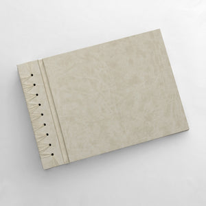 Large Album Cream ~ Animal Friendly Faux Leather