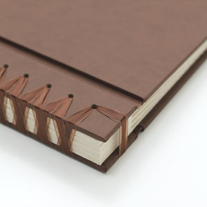 Large Album Mocha ~ Animal Friendly Faux Leather
