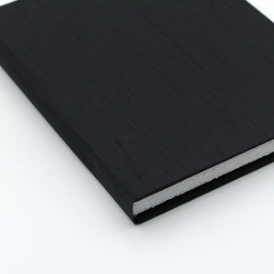 Large Journal Black Silk