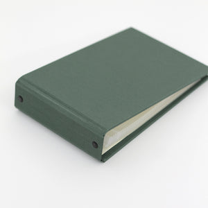 Brag Book Mini Binder with Jade Silk Cover