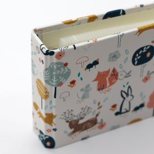 Brag Book Mini Binder with Woodland Fabric Cover