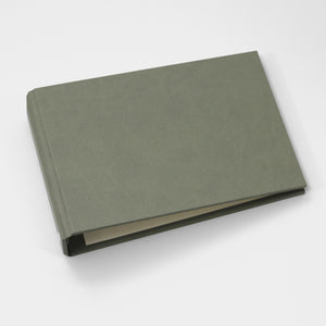 Brag Book Mini Binder with Moss Faux Leather