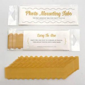 Photo Mounting Tabs