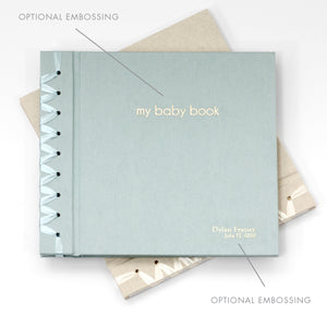 Baby's First Book Champagne Silk