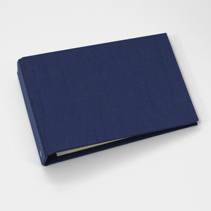 Brag Book Mini Binder with Navy Silk