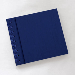 Baby's First Book Navy Silk