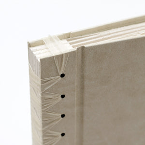 Small Album Cream ~ Animal Friendly Faux Leather