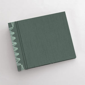 Small Album with Jade Silk Cover
