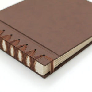 Small Album Mocha ~ Animal Friendly Faux Leather