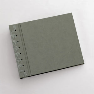 "Anniversary Journal ""Moss"" ~ Animal Friendly Faux Leather"