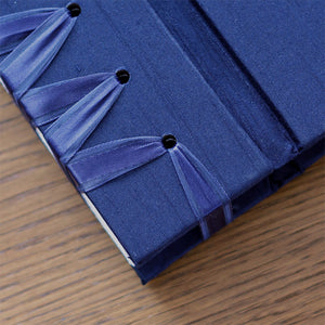 Small Album Navy Silk
