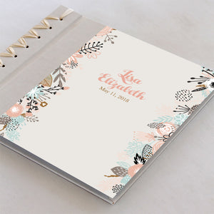 Personalized Baby's First Book Spring Blooms