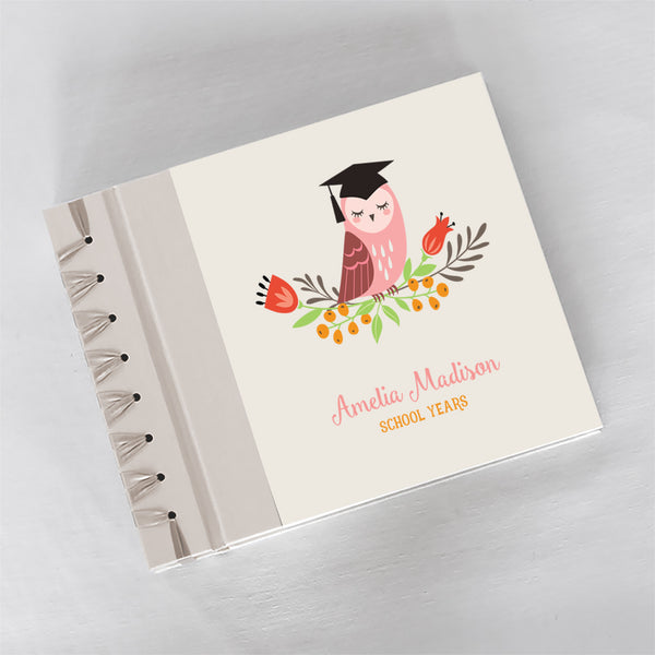 Personalized School Years The Graduate {Pink Orange}