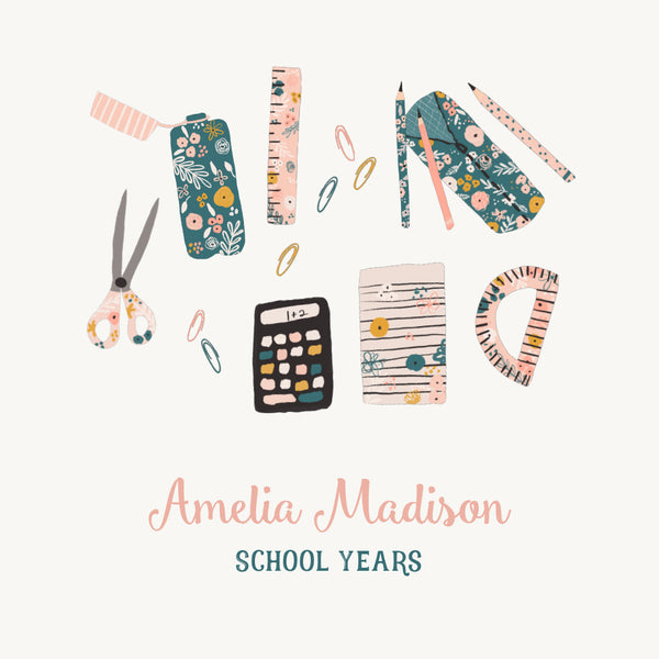 Personalized School Years School Supplies
