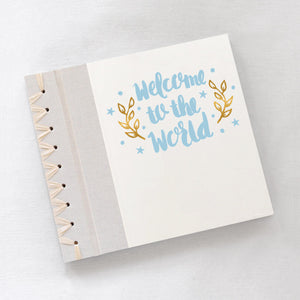 Baby's First Book Welcome Blue