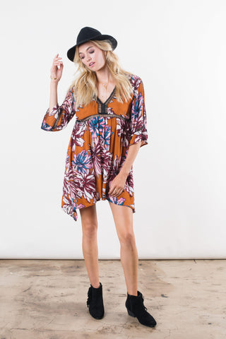 Chrysanthemum Tunic Dress