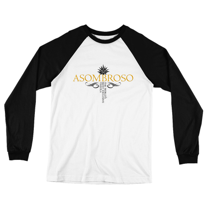 Official AsomBroso-Long Sleeve Baseball T-Shirt-Unisex