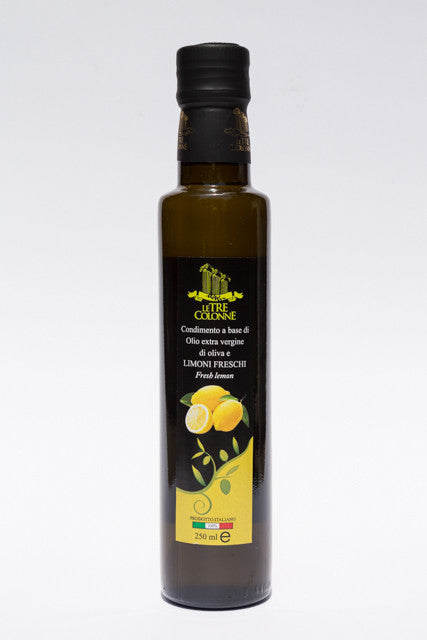 2017 Le Tre Colonne Limone (Lemon) Flavored Olive Oil 250ml