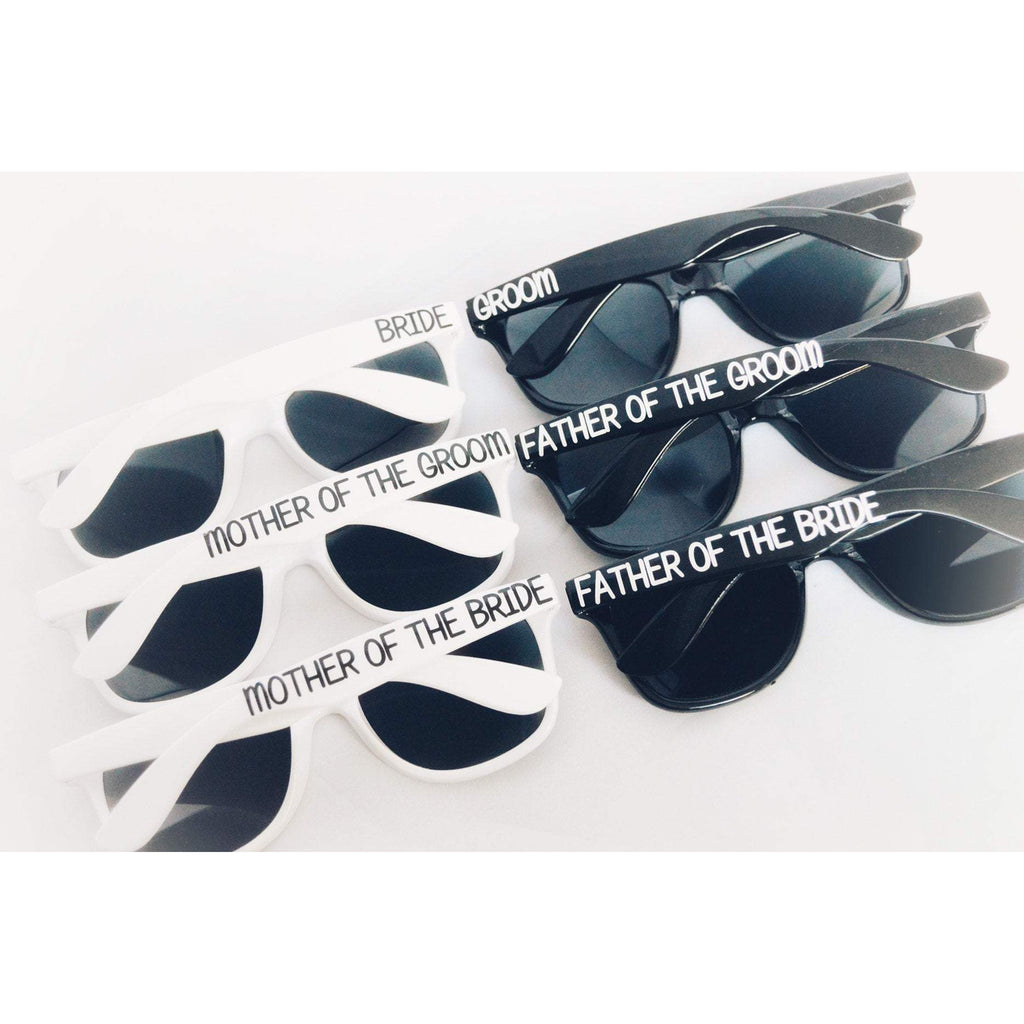 bridal party wedding sunglasses